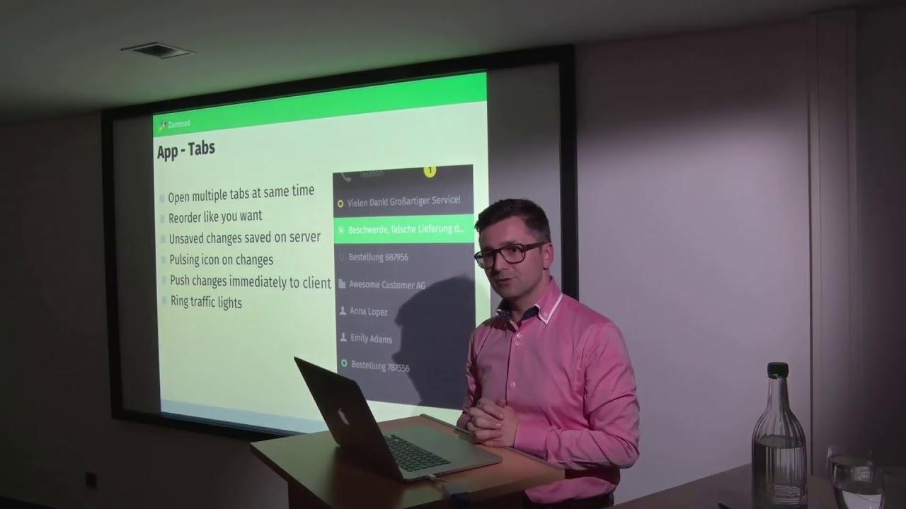Martin Edenhofer - Zammad als modernes Ticketsystem mit Social Media-Anbindung