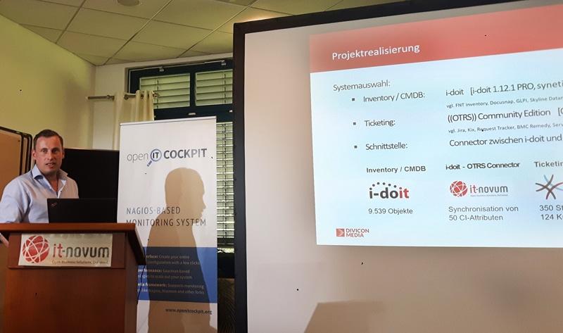 Lorenz von Divicon Media ITSM-Konferenz 2019
